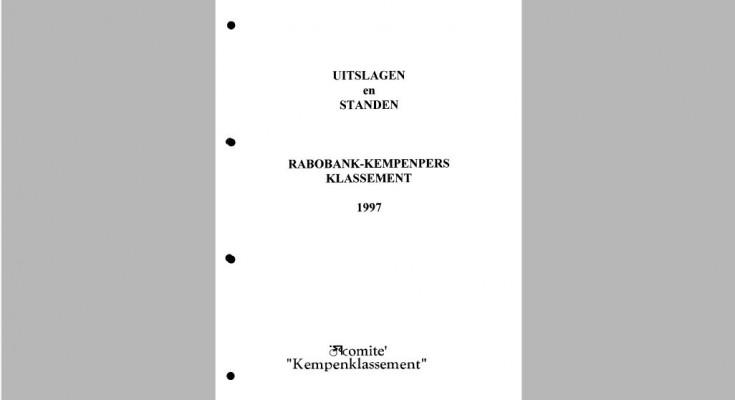 Kaft Jaarboek 1997