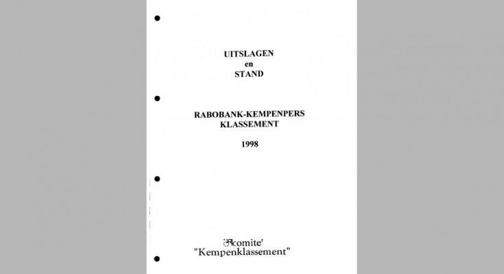 Kaft Jaarboek 1998