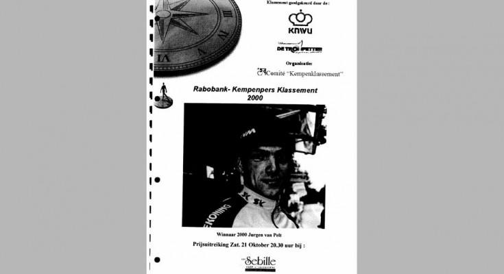 Kaft Jaarboek 2000