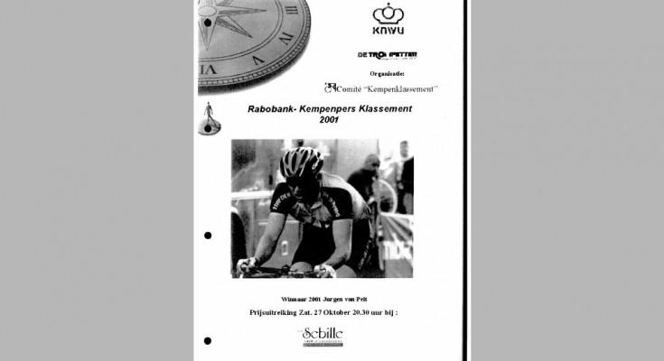 Kaft Jaarboek 2001