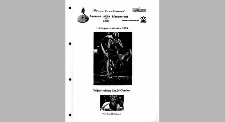 Kaft Jaarboek 2003